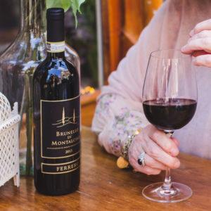 Da Francesco - Menu - Wein